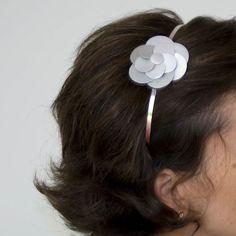 Adornos para el pelo on pinterest felt flower headbands - Como hacer adornos para el pelo ...