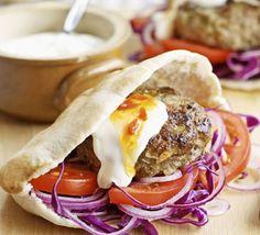 DIY kofta burgers | BBC Good Food