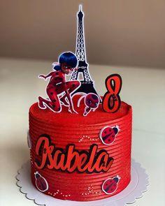Ladybug Cake Pops, Ladybug Cakes, Cake Decorating Frosting, Cake Decorating Tips, Bolo Miraculous Ladybug, Bolos Pool Party, Bolo Lady Bug, Ballerina Cakes, Birthday Cake Girls