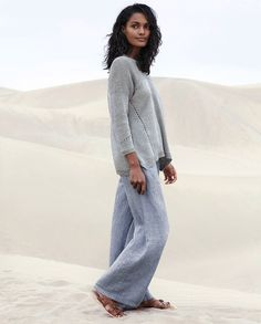 Image of Pointelle stitch sweater