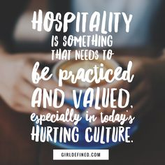 Hospitality not DIVISION is something that needs to be practiced and valued, especially in today's hurting culture. Hospitality Quotes, Christian Homemaking, Relief Society Activities, Religion, Christian Living, Beautiful Words, Wise Words, Favorite Quotes, Inspirational Quotes