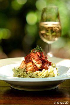 κόκορας κρασάτος Risotto, Food Photography, Chicken, Meat, Ethnic Recipes, Cubs