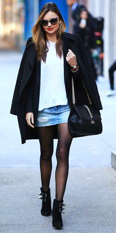 9 Best Street Style Looks of 2013 - Miranda Kerr from #InStyle
