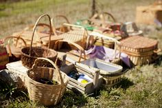 Valley & Co. picnic in a field | with License to Still