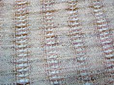 Handwoven Lace Scarf in Silk and Cotton by mmhaber, on Etsy