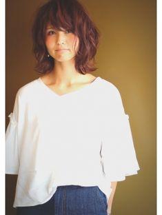 【t.】マッシュウルフ Short Hair Cuts For Women, Short Cuts, Short Hair Styles, Hear Style, Asian Hair, Grunge Hair, Love Hair, Fringes, Hairstyles With Bangs