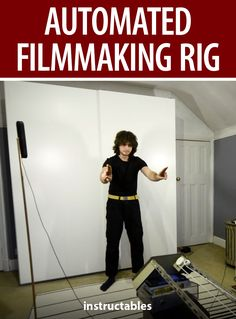 Learn how you can control devices with your hands to make this automated filmmaking rig. #Instructables #photography #technology #electronics #tracking Youtube S, Stepper Motor, Photography Projects, Arduino, Rigs, Filmmaking, Animation, Hands, Content
