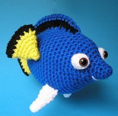 PDF Crochet Pattern TANG FISH by bvoe668 on Etsy