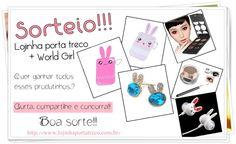 WORLD GIRL // OFICIAL: Sorteio: Lojinha Porta Treco + World Girl - veem!