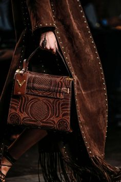 Autumn Aesthetic, Brown Aesthetic, Valentino Handbags, Dark Autumn, Etsy Jewelry, Vintage Shirts, Purses And Handbags, Monogram, Shoulder Bag