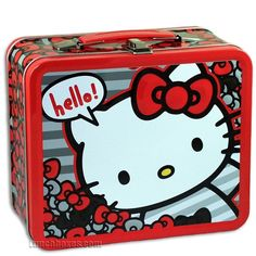 hello kitty metal lunch box - Buscar con Google