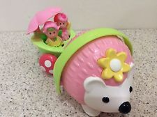 elc happyland wobble along hedgehog and fairy figures,fairies,boot,cottage,-used