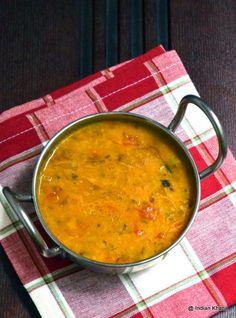 Moong Dal Tadka Recipe ~ Indian Khana