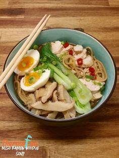 Week 37 - Miso Ramen Noodle Soup - ThermoFun | Thermomix Recipes