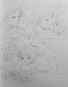 Солёный рамен/GaaNaru/FemNaruto/Gaara/FemGaara/N