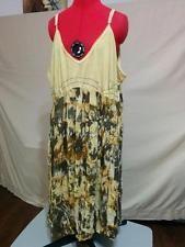 BUY IT NOW!  NEW Empire Waist Sundress Bubble Hem Plus Size 2X/3X 24W Adjustable Straps    eBay