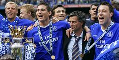 Chelsea won the second league title in the club's history in Jose Mourinho's first season in England