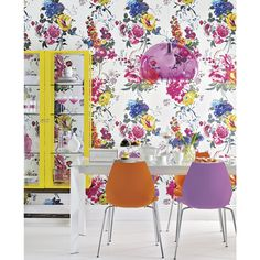 Get your home ready for summer with bright watercolour florals to breathe life and vibrancy into your interior
