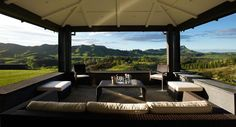 Retreats - Black Barn Vineyards - Hawkes Bay, New Zealand Outdoor Rooms, Outdoor Furniture Sets, Outdoor Decor, Outside Pool, Cycling Holiday, Black Barn, River Lodge, Rural Retreats, Luxury Accommodation