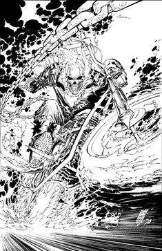 Ghost Rider #1 by Marc Silvestri