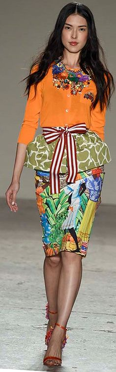 Color fashion Glam ... SS 2015 S Jean