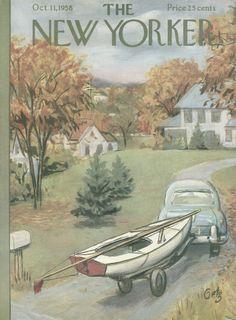 Arthur Getz : Cover art for The New Yorker 1756 - 11 October 1958