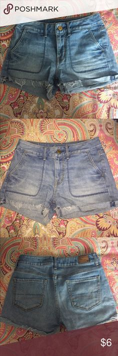 AEO Jean Shorts Brand New (size says 0- but they stretch so they are a true 2) American Eagle Outfitters Shorts Jean Shorts