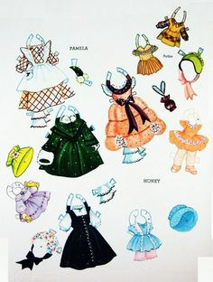 PARADE * 1500 free paper dolls at Arielle Gabriel's The International Paper Doll Society for paper doll pals at Pinterest, thanks to all of you..! *