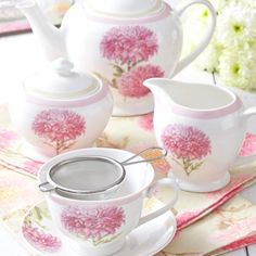 Buy collection of Dorothy Marins design with vibrant Chrysanthemum garden flowers if her winning RHS Prizes China Teapot, China Cups And Saucers, Tea Art, Tea Cakes, Summer Garden, Churchill, High Tea, Drinking Tea, Afternoon Tea