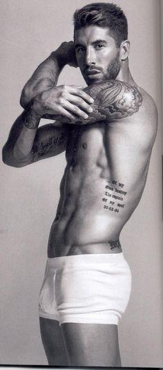 Sergio Ramos. tatuajes