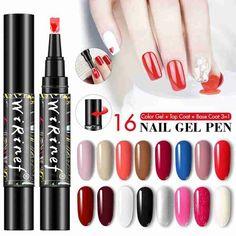 Smarter Shopping, Better Living! Aliexpress.com Nail Polish Pens, Gel Nail Varnish, Cheap Nail Polish, Nail Pen, Gel Nail Art, Gel Pens, Gel Nails, Pencil Nails, Glitter Gel