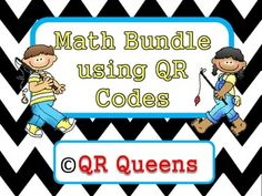 Check out this awesome buy...40% off single products! Get eight math products using QR Codes in this bundle! K-2nd $ So MANY QR Codes for the money!