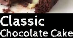 Ingredients Chocolate Cake: 2 cups all-purpose flour 2 cups granulated sugar cup Dutch-processed cocoa powder sifted 2 tsp baki. Classic Chocolate Cake Recipe, Chocolate Swiss Meringue Buttercream, Fudge Cake, Cake Board, Easy Cake Recipes, Cute Cakes, Melting Chocolate, Grease, Caramel Apples