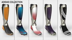 Impetus - Leg Prosthesis by Aurélien Dantin - The Impetus leg prosthetic gives sports-minded amputees not only the capability to play sports again, but to boost their confidence while doing so. 3D printed sections on the design can be interchanged and created precisely for the wearer's individual taste and style or to carry uniform colors. | Yanko Design