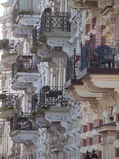 """audreylovesparis: """" Paris balconies """""""
