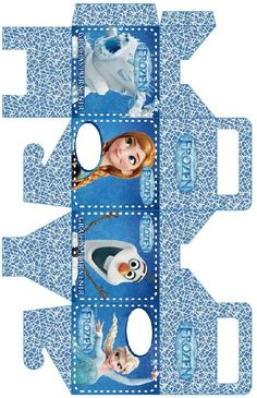 1 million+ Stunning Free Images to Use Anywhere Frozen Birthday Party, Disney Frozen Party, Elsa Frozen, Diy Gift Box, Diy Box, Diy Gifts, Paper Folding Crafts, Paper Crafts, Hobbies And Crafts