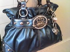 Kathy Van Zeeland Beautiful Blue Crown Princess Purse-NEW | eBay