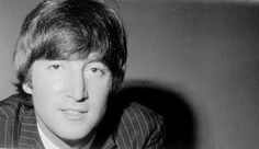 John Lennon Black And White Young