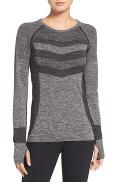 Zella Infrasonic Seamless Top available at #Nordstrom