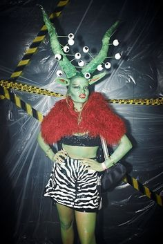 Youth and pop culture provocateurs since Fearless fashion, music, art, film, politics and ideas from today's bleeding edge. Space Fashion, Fashion Art, Costume Halloween, Punk Rock, Fancy Dress, Dress Up, Space Costumes, Theatre Costumes, Alien Costumes
