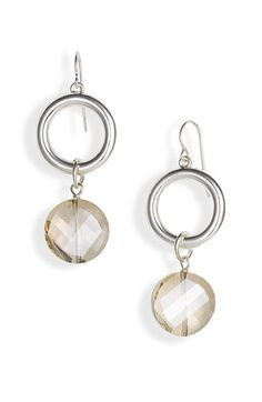Simon Sebbag Glass Stone Drop Earrings (Nordstrom Exclusive) available at #Nordstrom