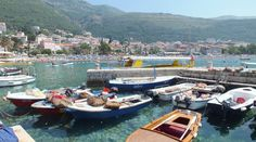 Petrovac, Hafen - Montenegro, Foto: S. Hopp