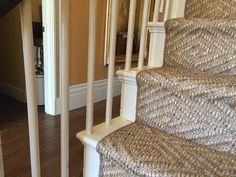 Stair Runners Decorative Ideas With Natural Fiber