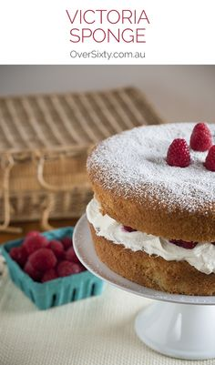 Victoria Sponge Cake - if you're looking for the perfect sponge cake recipe for afternoon tea or your next birthday cake, look no further.