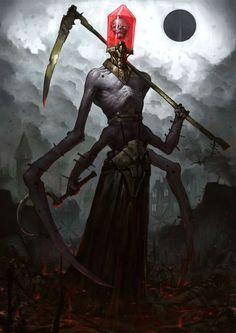 (40) cinemagorgeous: Darkly compelling creature designs by Russian artistBogdan Rezunenko.   Numenera   Pinterest