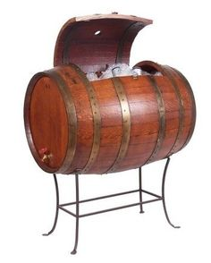 Eco-friendly hand crafted wine and beer cooler!