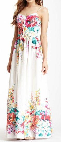 Floral Maxi Dress ♥