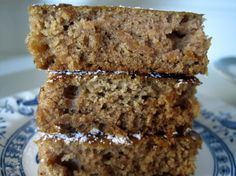 Spiced Applesauce Bars