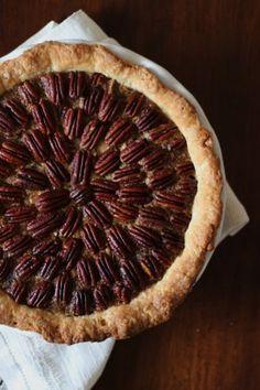 Chocolate Pecan Pie with Bourbon Maple Whip Cream
