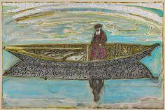 'Fisherman' by Billy Childish, 2015